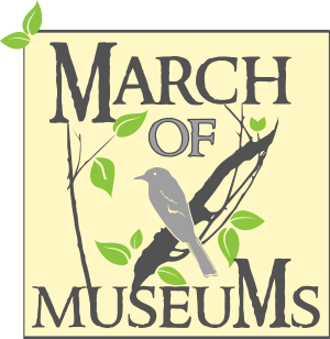 March of Museums square logo